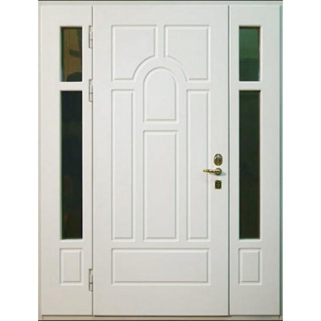стальные тамбурные двери со стеклом
