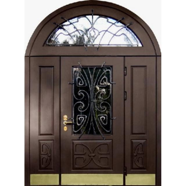 двери металлические входные арочные цены