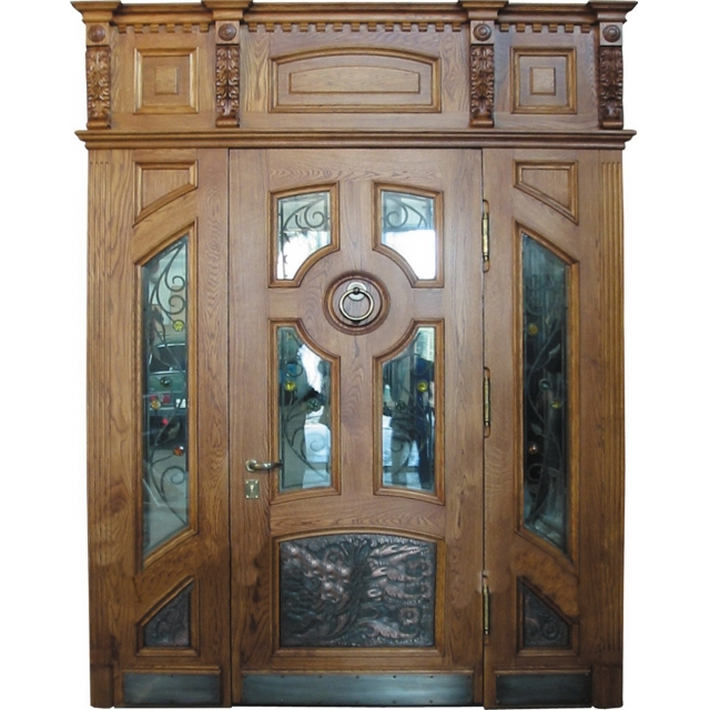 двери металлические парадные двойные